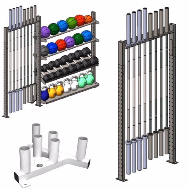 Olympic Bar Storage