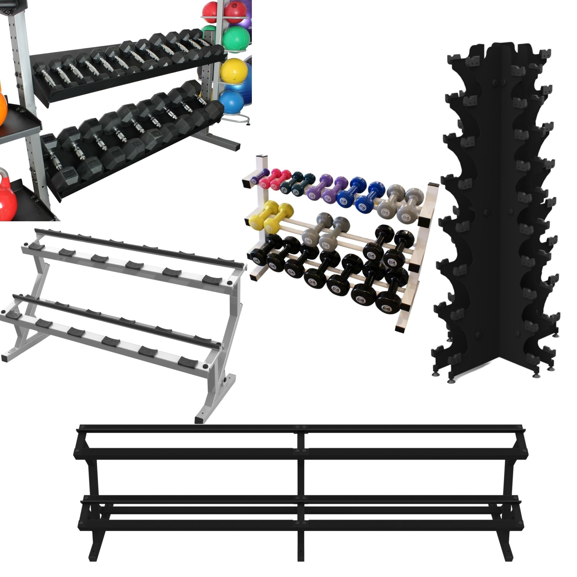 Storage for Dumbbells