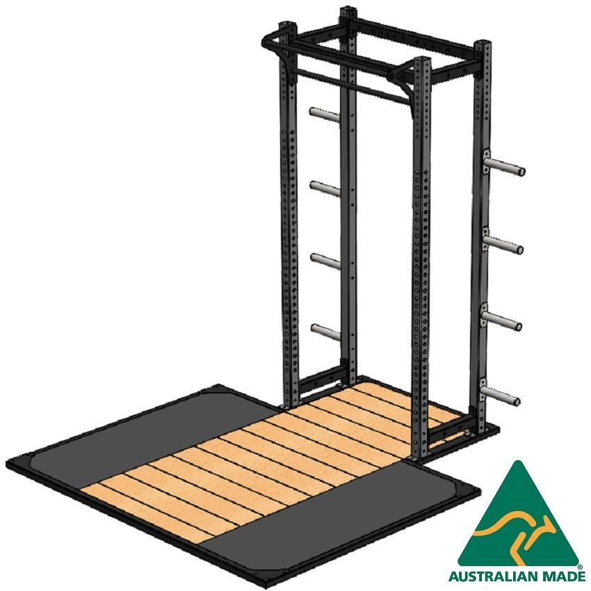 R/half cage + plat 2.4 x 1.8m