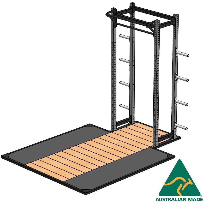 R/half cage + plat 2.4 x 2.4m
