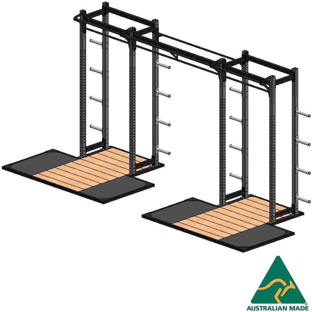 R/half cage+plat 2.4 x 1.2 x2m