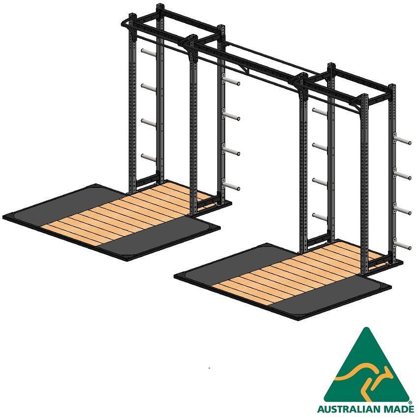 R/half cage + plat 2.4x1.8m x2