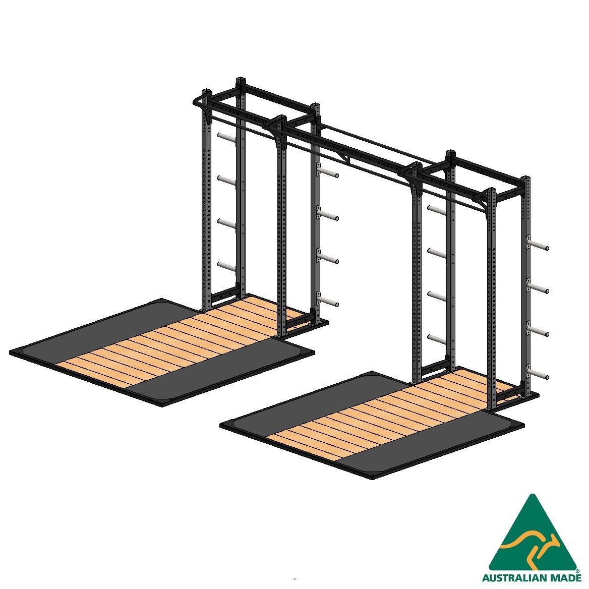 Cage half + plat 2.4x2.4m x 2