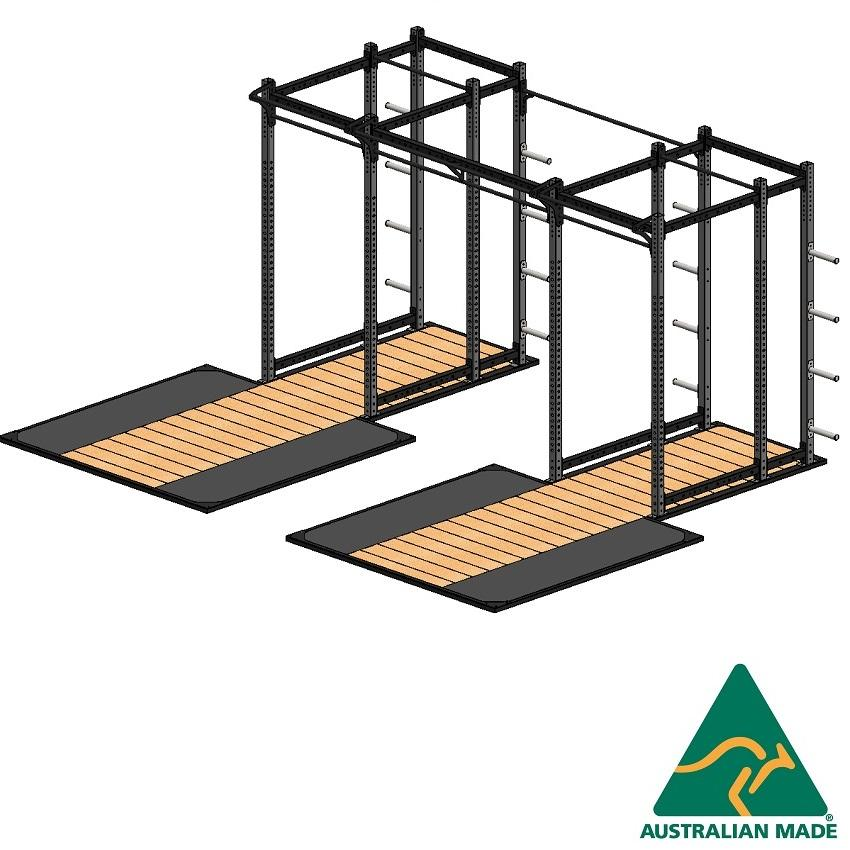Cage sws + plat 2.4 x 2.4m x 2