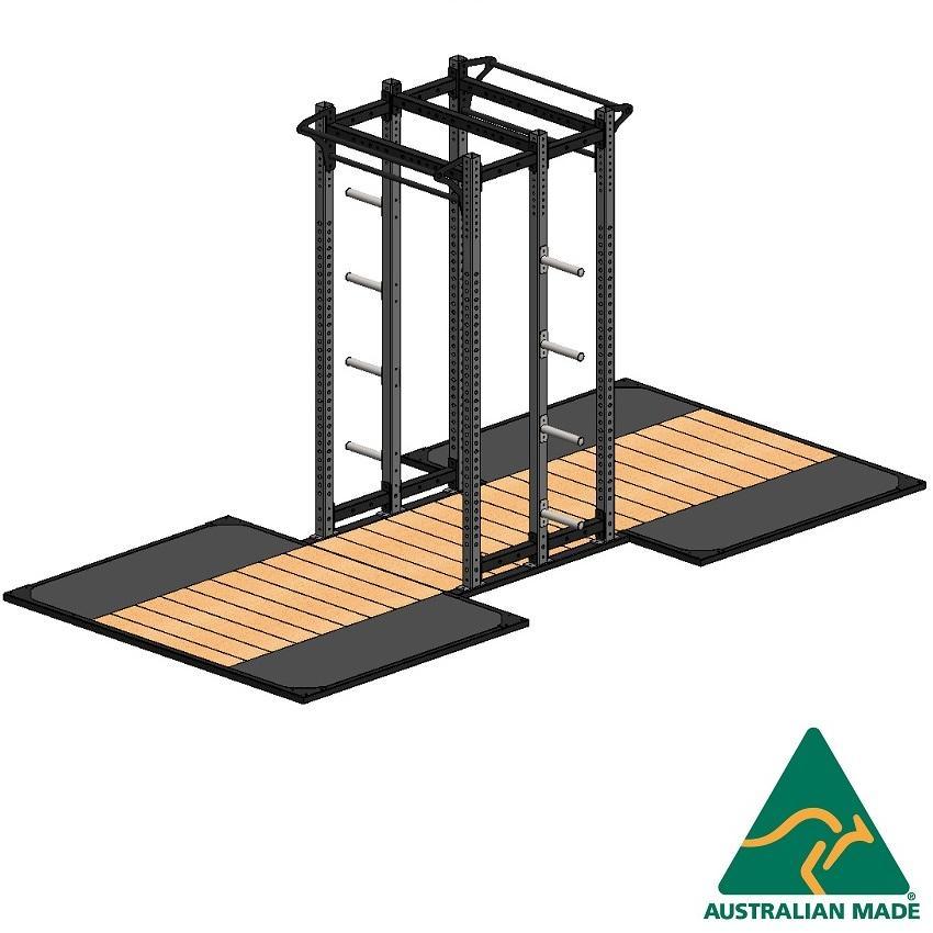 Cage dblhalf + plat 2.4 x 1.8m
