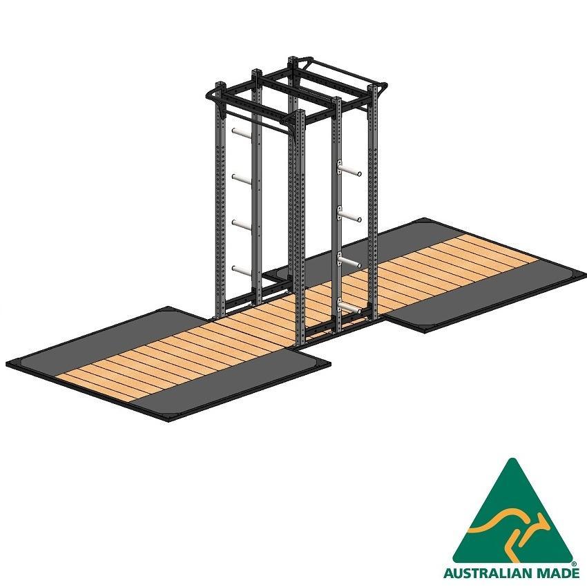 Cage dblhalf + plat 2.4 x 2.4m