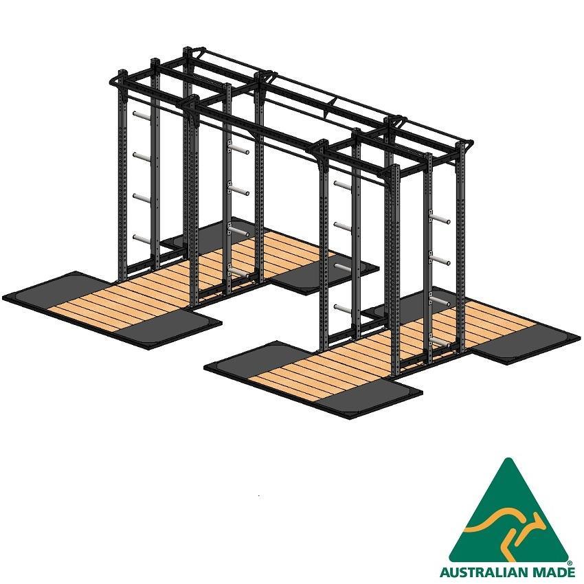 Cage dblhalf + plat 2.4x1.2 x2