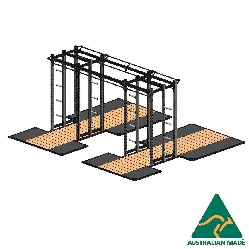 Cage dblhalf + plat 2.4+1.2 x2