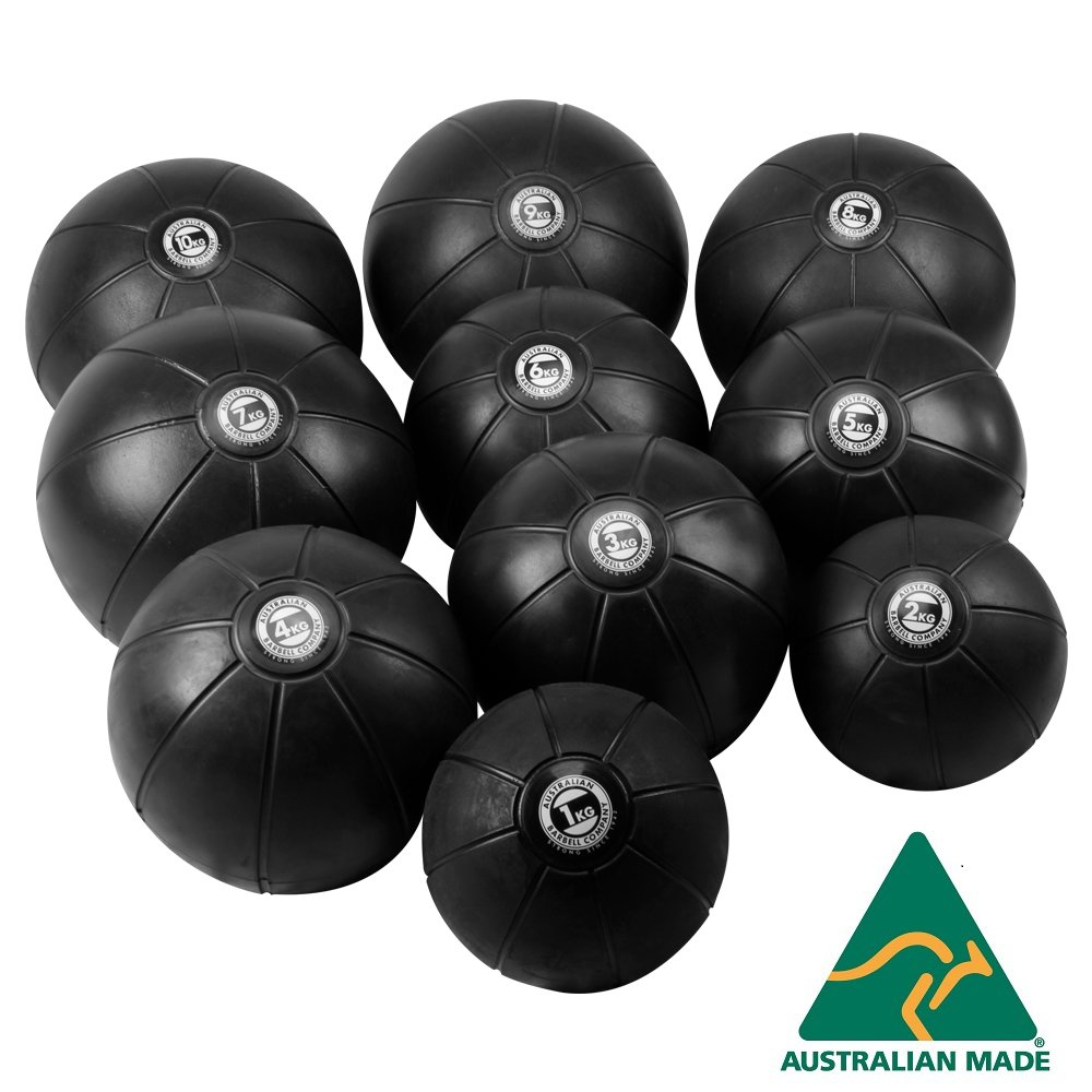 Black Medicine Ball range - commercial quality