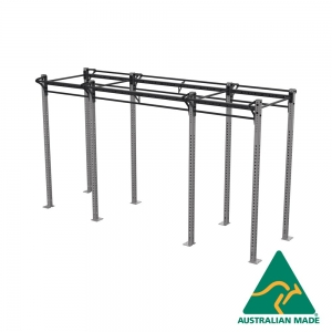 Free-standing dual cell rack