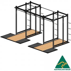Cage sws + plat 2.4 x 1.2m x2