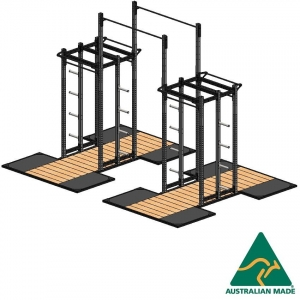 Cage dblhalf+plat2.4X1.2X2+ext