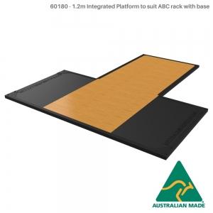 F/s base,storage,tri crossbeam (60180 - Rack with base platform insert + 1.2m Platform)