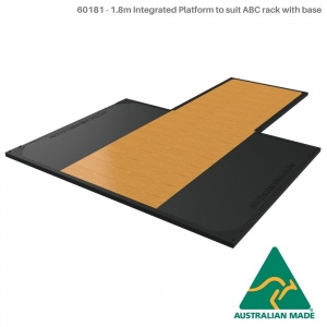 F/s base,storage,tri crossbeam (60181 - Rack with base platform insert + 1.8m Platform)