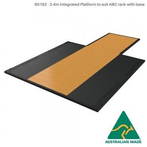 F/s base,storage,tri crossbeam (60182 - Rack with base platform insert + 2.4m Platform)