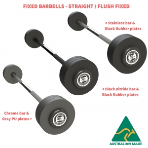 Fixed Barbells - Flush