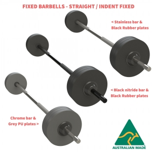 Fixed Barbells - Indent