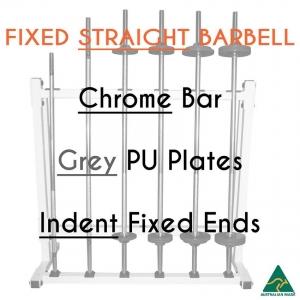 Chrome bar / PU plates / Indent fixed