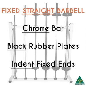 Chrome bar / Blk Rub plates / Indent fixed