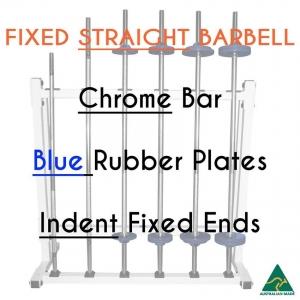 Chrome bar / Blu Rub plates / Indent fixed