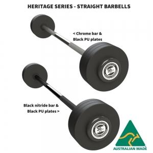 Heritage Series - Premium Straight Fixed Barbells
