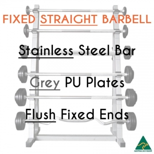 Stainless bar/PU plates/Flush fixed