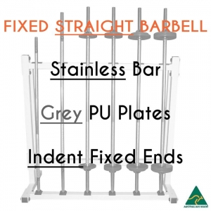 Stainless bar/PU plates/Indent fixed