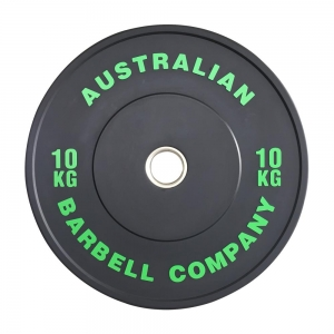 Black Series Bumper Plates (BLKBP-10 - 10kg each, green)