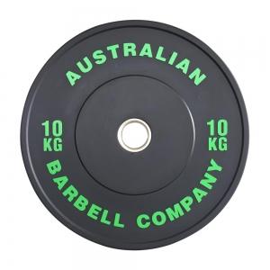 Black Series Bumper Plates (BLKBP-10 - 10kg - green print)