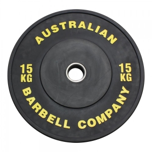 Black Series Bumper Plates (BLKBP-15 - 15kg each, yellow print)