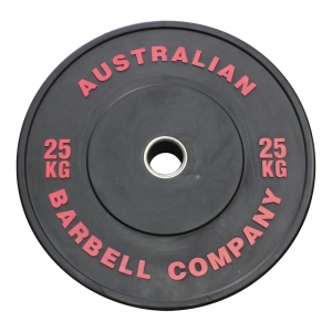 Black Series Bumper Plates (BLKBP-25 - 25kg each, red print)