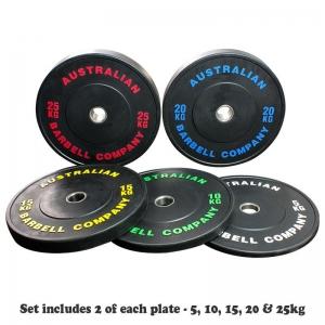 150kg Set of Black Series Bumpers