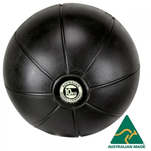 Black Medicine Ball range - commercial quality (BMBK-10 - 10kg - 250mm diametre)