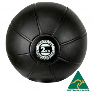 Black Medicine Ball range - commercial quality (BMBK-2 - 2kg -200mm diametre)