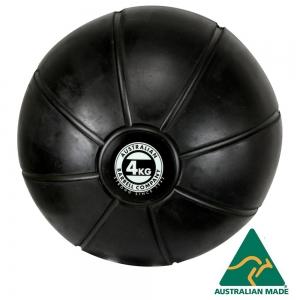 Black Medicine Ball range - commercial quality (BMBK-4 - 4kg - 250mm diametre)