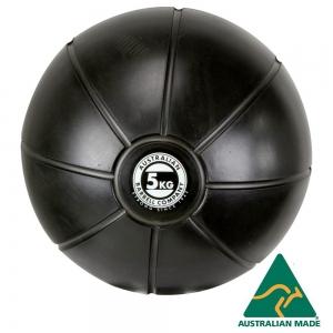 Black Medicine Ball range - commercial quality (BMBK-5 - 5kg -250mm diametre)