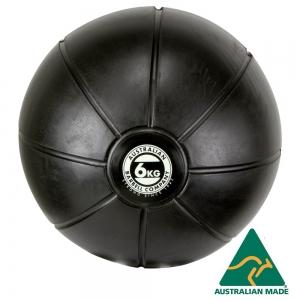 Black Medicine Ball range - commercial quality (BMBK-6 - 6kg - 250mm diametre)