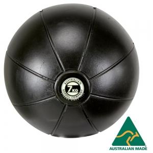 Black Medicine Ball range - commercial quality (BMBK-7 - 7kg - 250mm diametre)