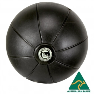 Black Medicine Ball range - commercial quality (BMBK-8 - 8kg -250mm diametre)