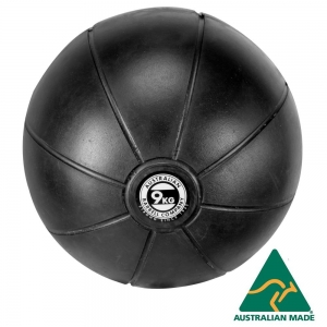 Black Medicine Ball range - commercial quality (BMBK-9 - 9kg - 250mm diametre)