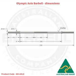 Axle / Fat Bar