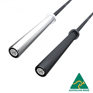 20kg Olympic Barbell - with centre knurl
