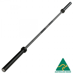20kg Olympic Barbell - with centre knurl (BO220NM-BN - Needle Bearing, B/N Sleeve)