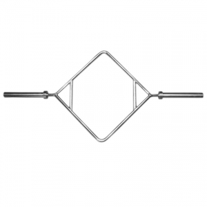 Diamond/trap Olympic Barbell