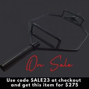 Olympic Trap Bar - Black