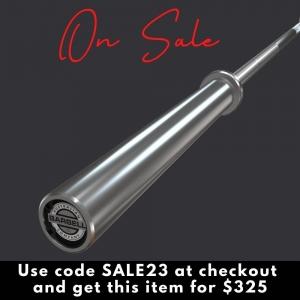 20kg Chrome Olympic Bearing Barbell