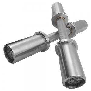 Olympic Dumbell Handles with Collars (imported)