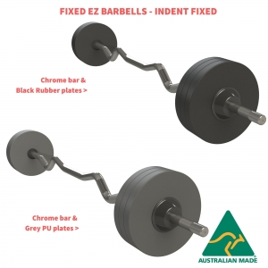 EZ Fixed Barbells - Indent