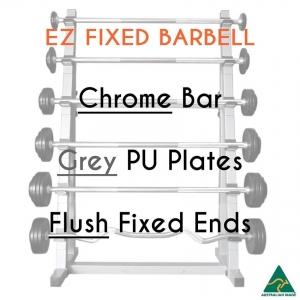 Chrome EZ bar/PU plates/flush fixed