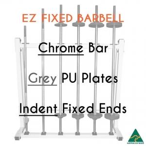 Chrome EZ bar/PU plates/Indent fixed